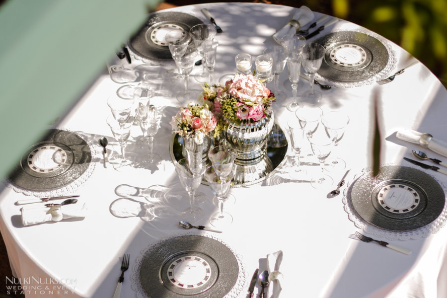 Romantic Wedding Table Setting