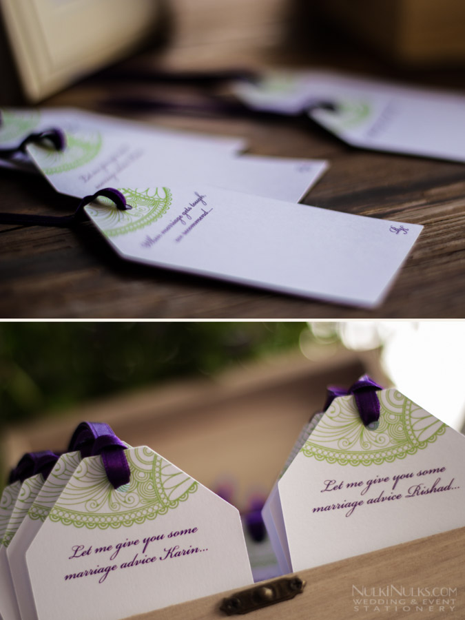 Wishing Tags, Guest book  alternative