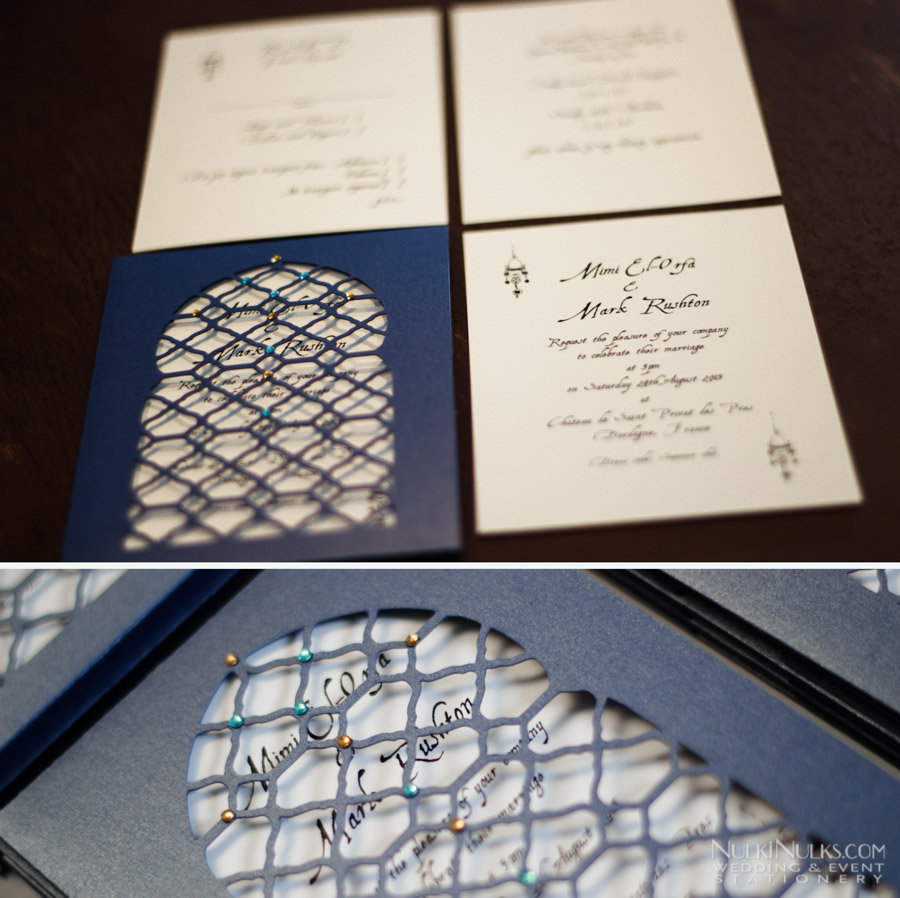 Moroccan Window Pocket Invitation