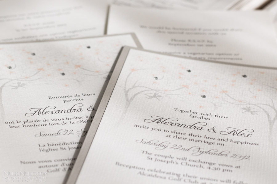 Spring and Summer Weddings Collection - Invitation and Save the Date ...