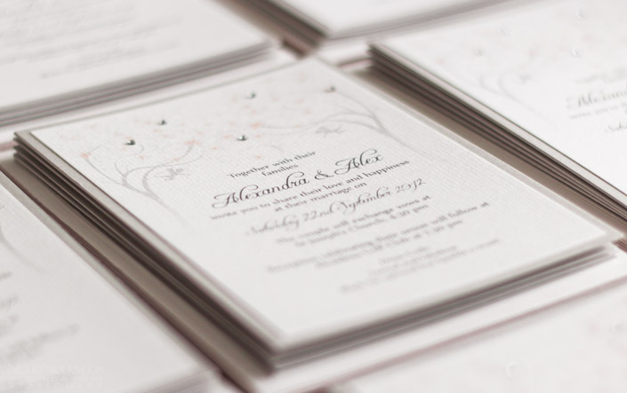 Spring and Summer Weddings - Invitation