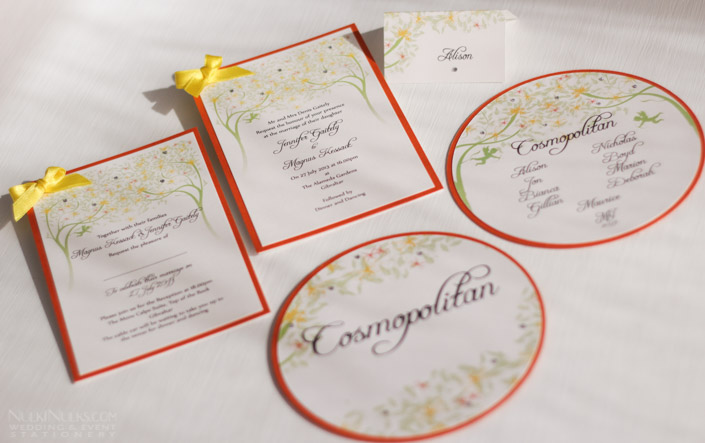 Spring and Summer Wedding Stationery Suite