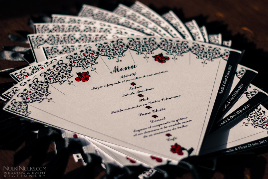 Lace Wedding Invitation with great invitation layout