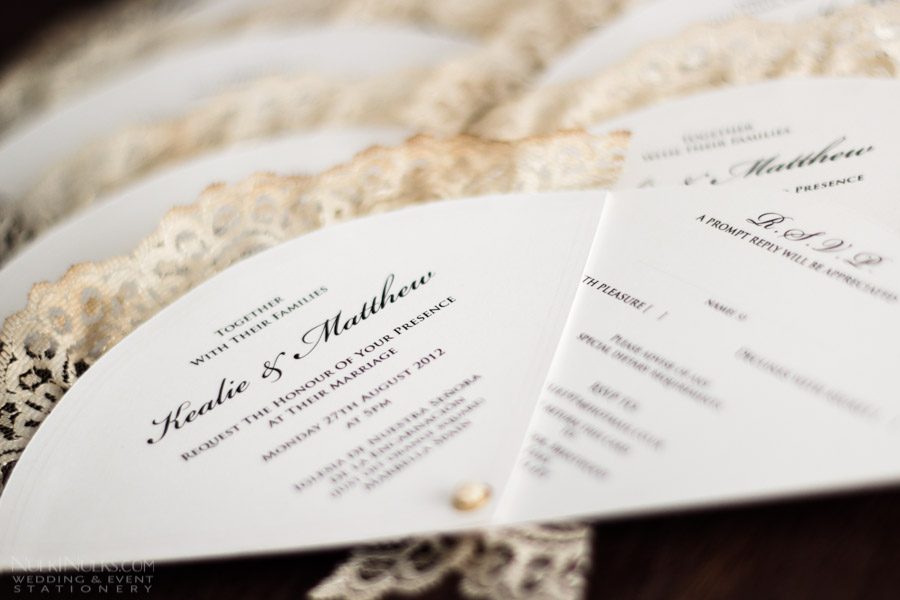 Wedding Fans Collection - Creative and Unique Invitations, Save ...