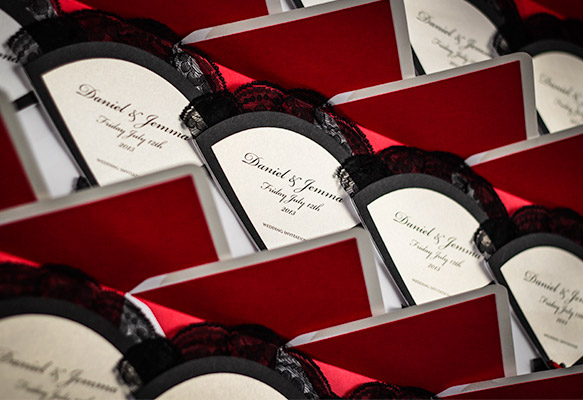 Flamenco-themed Wedding Invitations