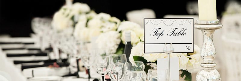 Couture Wedding Table Name