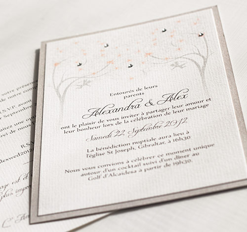 Various Wedding Invitations