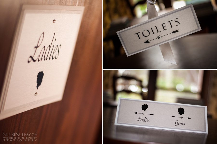 Wedding Stationery Variuos Signage