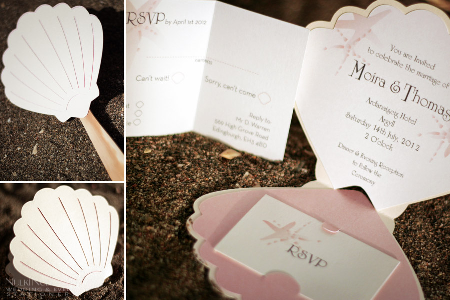 Custom-shaped Wedding Invitations
