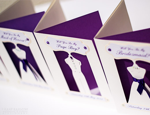 3D cut-out Wedding Cards
